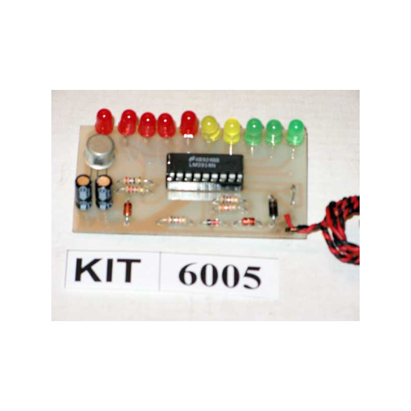 LED Volt Meter Kit 6005