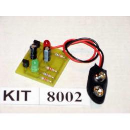 PNP Transistor Flip Flop Kit 8002