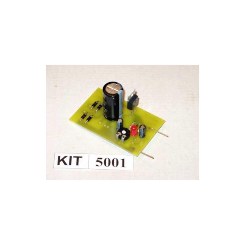 Adjustable LM317T Power Supply Kit 5001