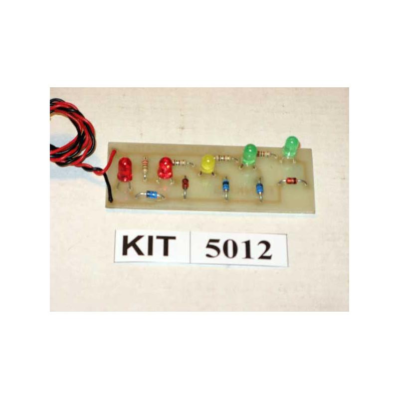 5 LED Voltmeter 5012