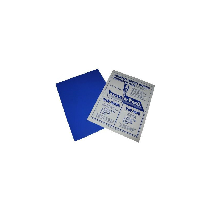 Press-n-Peel Blue Transfer Film A4 Sheet