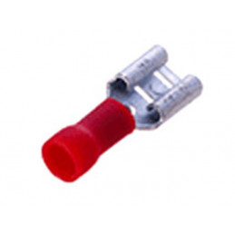 Insulated Disconnect Lug Female 2.8mm Red