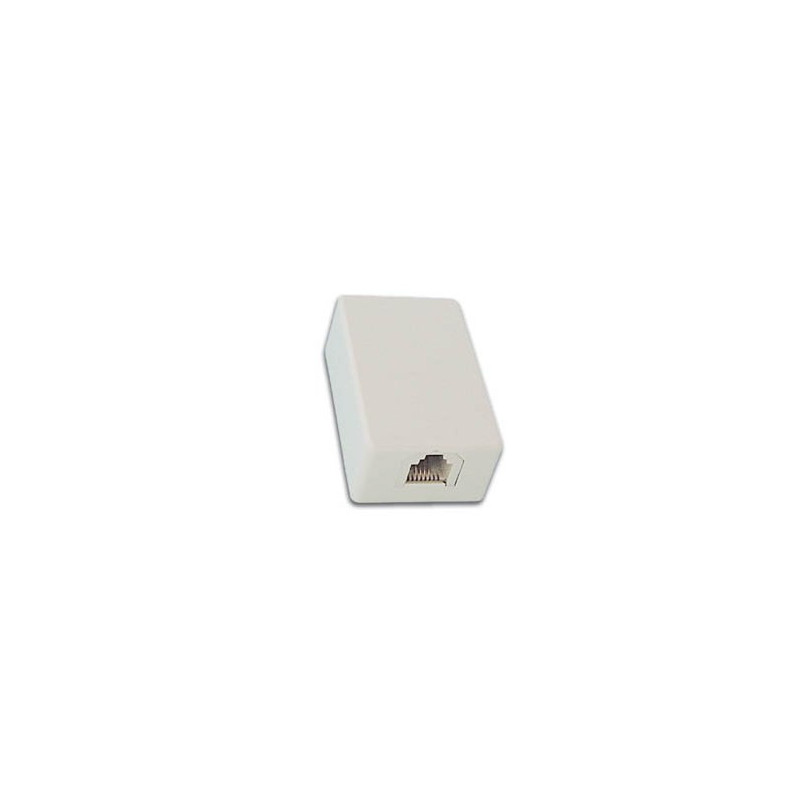 Wall Mount 6P4C Female Connector