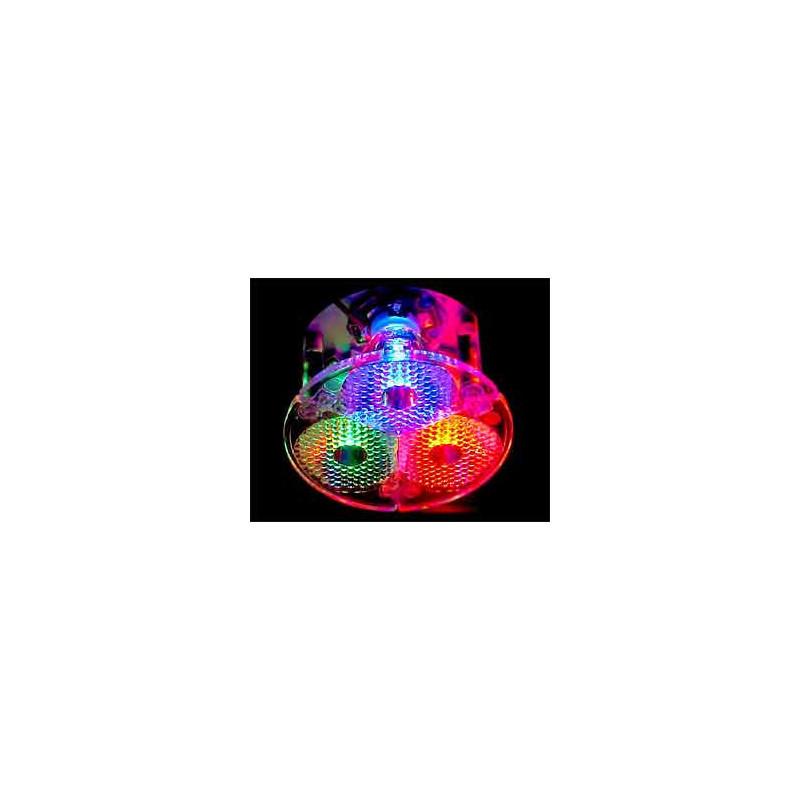 Fraen Medium Beam Tri-Lens - Fits Lambertian LEDs