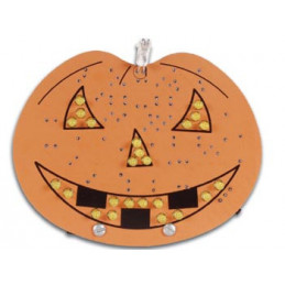 MK145 LED Halloween pumpkin kit