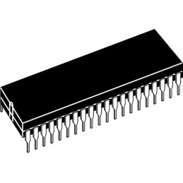 IC microcontroller MC68HC908GP32CPE