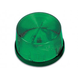 HAA40 Strobe Light Green 12V