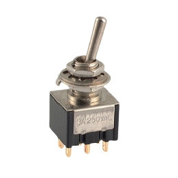 Mini Toggle Switch DPDT ON-ON