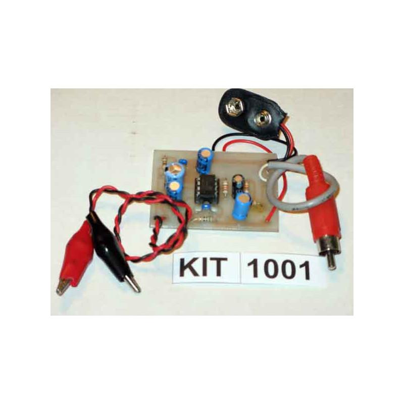 1 Watt Audio Amplifier 1001