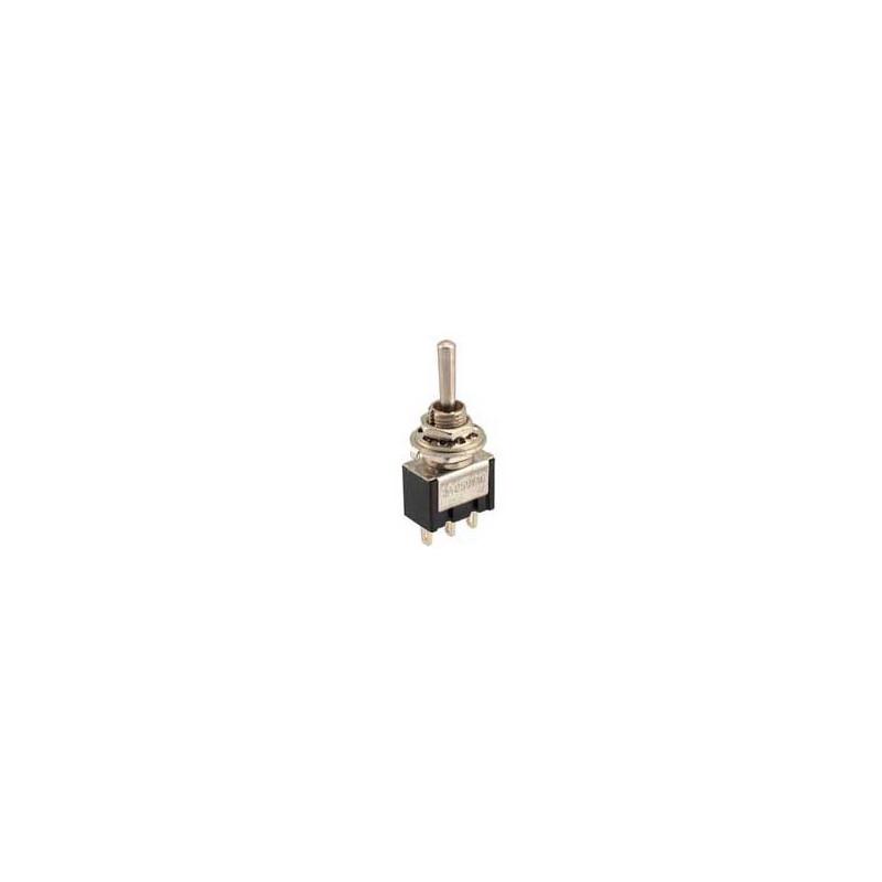 Mini Toggle Switch MS500E (ON) - OFF- (ON)