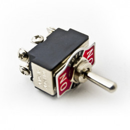 Toggle Switch DPDT B066 10A Centre Off
