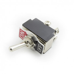 Toggle Switch DPST 10A