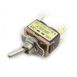 Toggle Switch DPST 15A