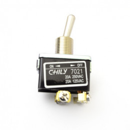 Chily Toggle Switch DPST ON -OFF 20A 7021