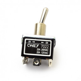 Chily Toggle Switch DPDT on-on 20A 7022
