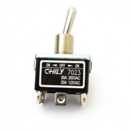 Chily Toggle Switch DPDT ON - OFF - ON 20A 7023