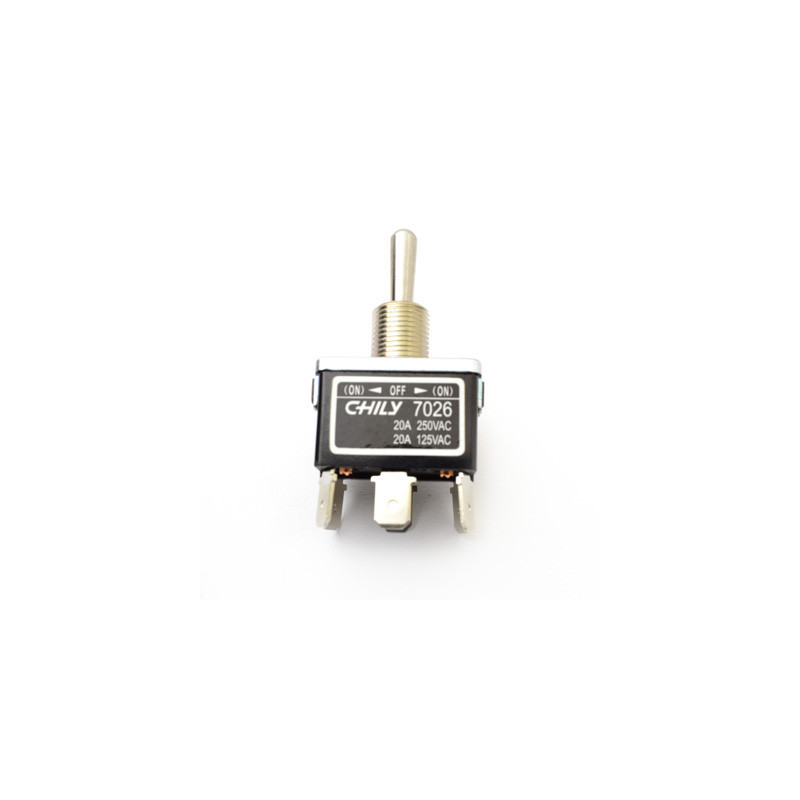 Chily Toggle Switch DPDT (ON)-OFF-(ON) 20A 7026C