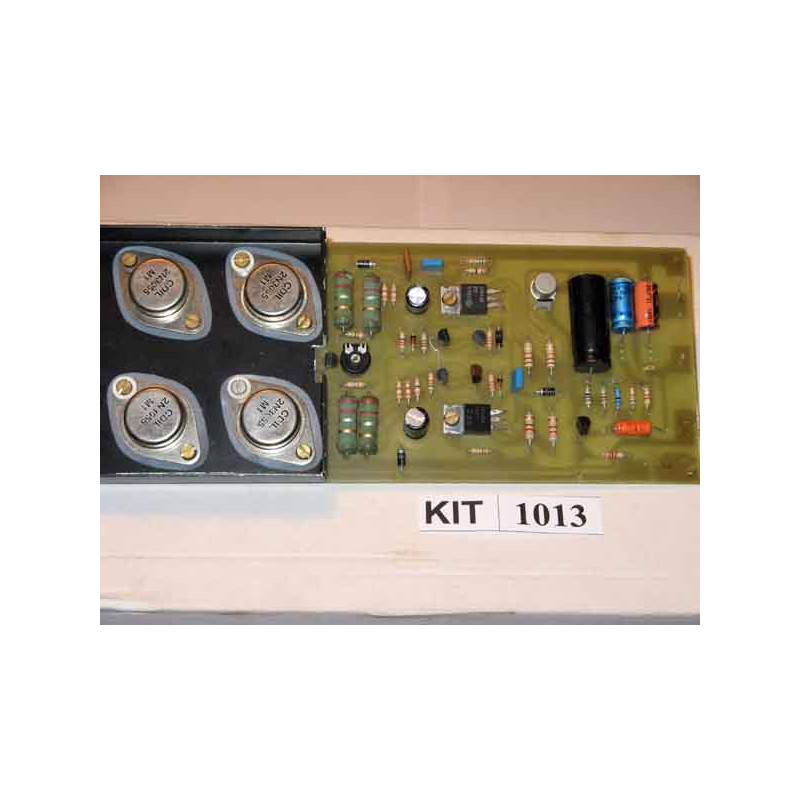 125 Watt Audio Amplifier 1013