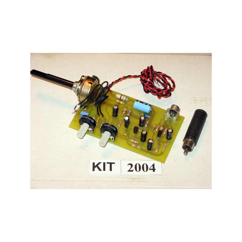 Three Transistor Pre Amp 2004
