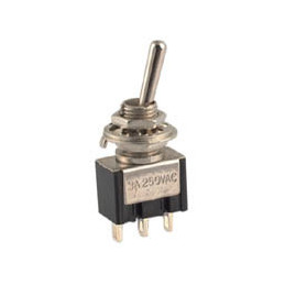 Mini Toggle Switch SPDT ON - (ON)