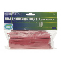 Heat Shrinkable Tube Kit - 40pcs- RED