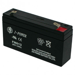 Lead Acid Battery 6V 1.3AHR