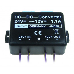 DC to DC converter 24 to 12VDC