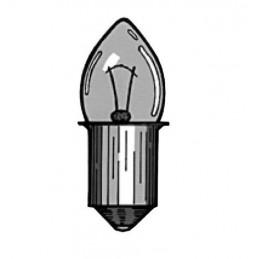 Lamp Torch Flange 4.8V