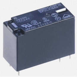 JW2SN Relay power 5A 24V DPCO