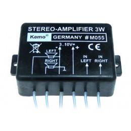 M055 Stereo amplifier 3W