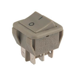 Rocker Switch 6P DPDT ON-OFF
