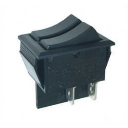 Rocker Switch 4P DPST ON-OFF