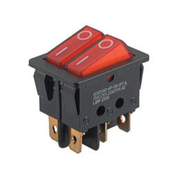 Rocker Switch 6PIN DPST ON-OFF