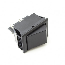Rocker Switch 4P DPST Black