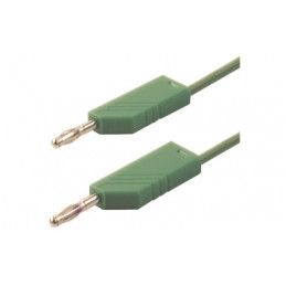 Test Lead 1M PVC Green 60v 16A