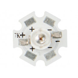 5W High Power Led - Yellow - 160lM