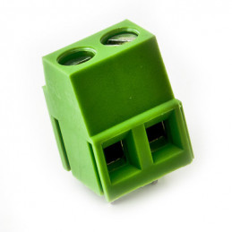 CMM5HQ-2 PCB Terminal Block 2 Screw 5mm Pitch