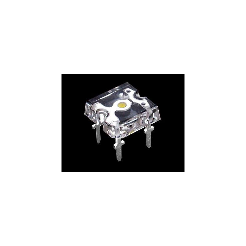 5mm Flat Top Super Flux Piranha LED - White