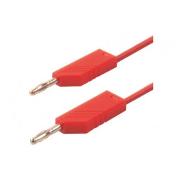 Test Lead 1M Silicon Red