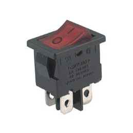 Rocker Switch 4pin DPST
