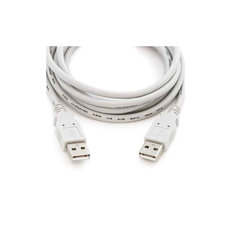 USB A MALE TO USB A MALE 2.0M