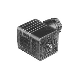 Connector 3 Pole + Earth - GDM3011 - Black
