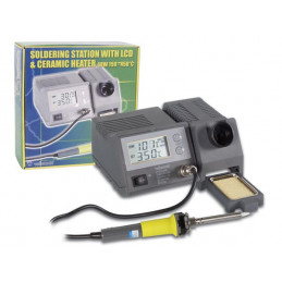 VTSSC40N Soldering Station LCD Display Ceramic Heater 48W