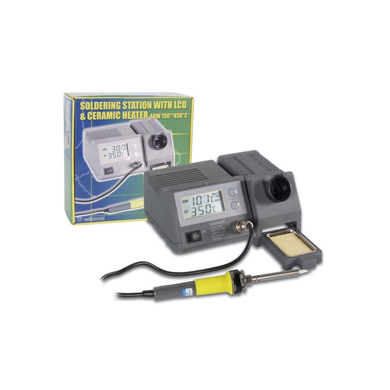 VTSSC40N Soldering Station LCD Display Ceramic Heater 48W