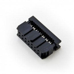 14-PIN IDC SOCKET CABLE MOUNT