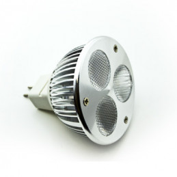 MR16 3W LED Downlight - Warm White - 12V DC 250LM