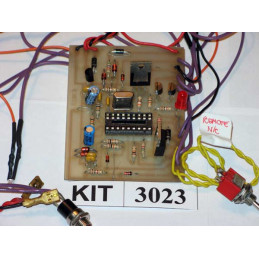 Anti Hijack Car Alarm 3023