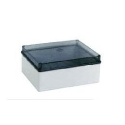 Multipurpose Enclosure 150x110x70 Grey - Clear Lid 420C5