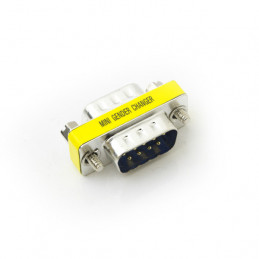 Gender Changer Connector - 9pin male to 9pin male