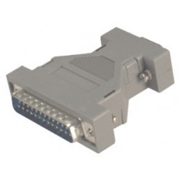 Gender Changer Connector - 9pin male to 25pin female